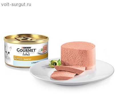 Gourmet Gold Cat конс. паштет с Тунцом