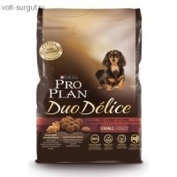 Pro Plan Adult Small Breed Duo Delice Beef