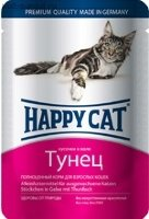 Happy Cat Pouches для кошек Тунец (Германия)