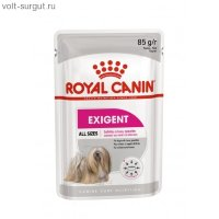 Royal Canin EXIGENT POUCH LOAF (В ПАШТЕТЕ)