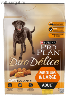 Pro Plan Adult Duo Delice Chicken