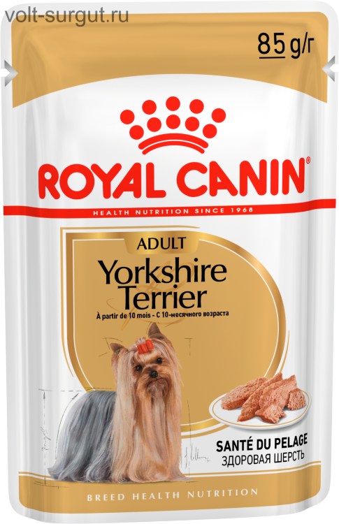 Royal Canin Yorkshire Terrier Adult (паштет)