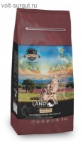 Landor GRAIN FREE FOR CATS HAIRBALL&WEIGHT CONTROL с мясом ягненка