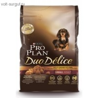 Pro Plan Adult Small Breed Duo Delice Chicken