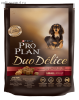 Pro Plan Adult Small Breed Duo Delice Salmon